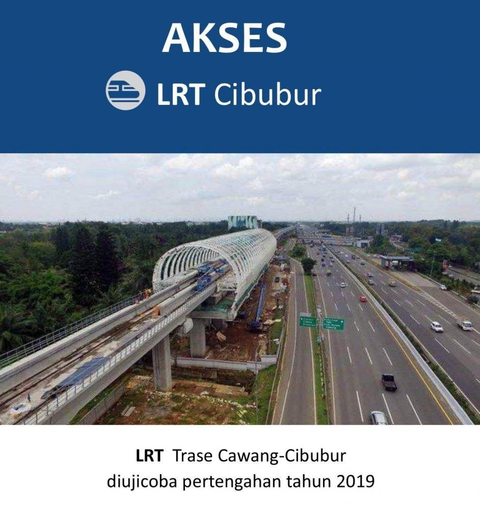 Akses CitraLand Cibubur LRT