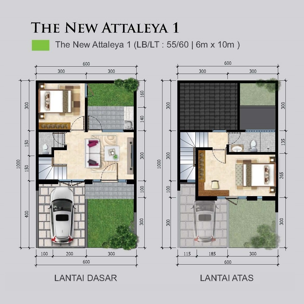 Denah new Attaleya 1 56-60