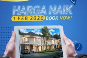 Harga Naik 1 FEBRUARI 2020 – CitraLand Cibubur