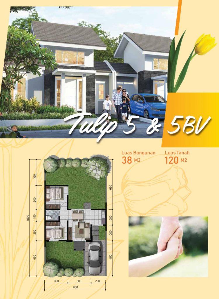 Brosur Cluster Bukit TULIP Citra Indah City Ciputra Grup Cibubur Cileungsi Jonggol