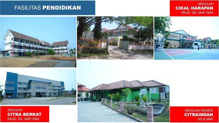 sekolah Fasilitas Citra Indah City Timur Cibubur Ciputra Grup