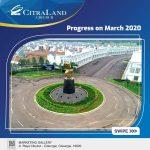 Progress CitraLand Cibubur Maret 2020