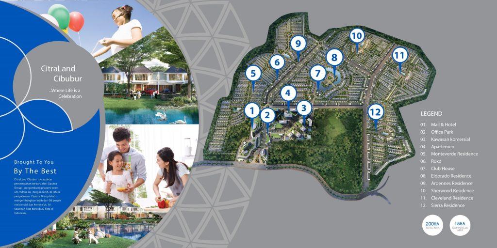 Masterplan CitraLand Cibubur
