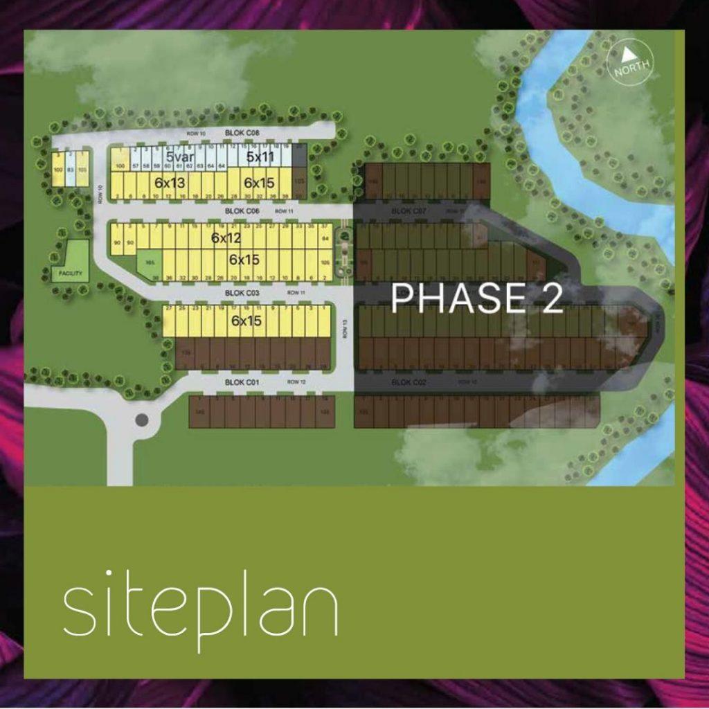 Siteplan Calathea CitraGrand Cibubur CBD