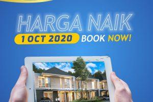 Harga Naik 1 Oktober 2020 – CitraLand Cibubur
