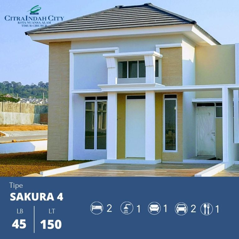 Sakura 4 - 45-150 Citra indah City