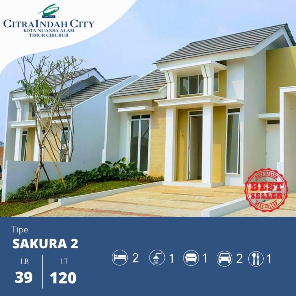 Sakura 2 - 39-120 Citra indah City