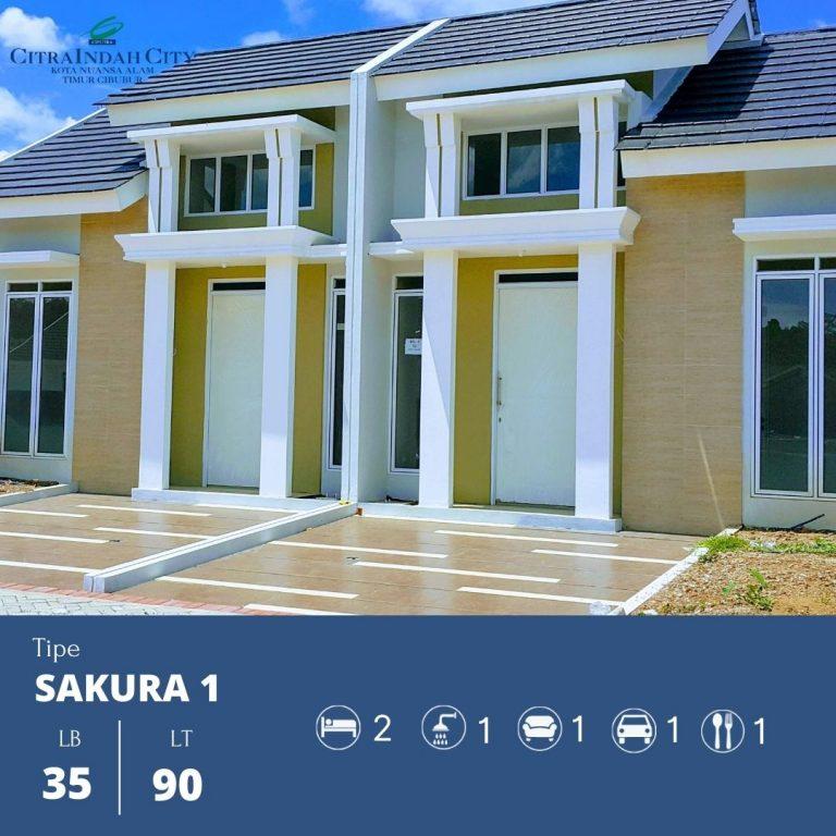 Sakura 1 - 35-90 Citra indah City