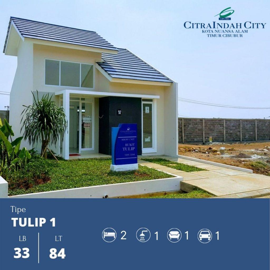 Tipe Tulip 1 - 33-84 Citra Indah City