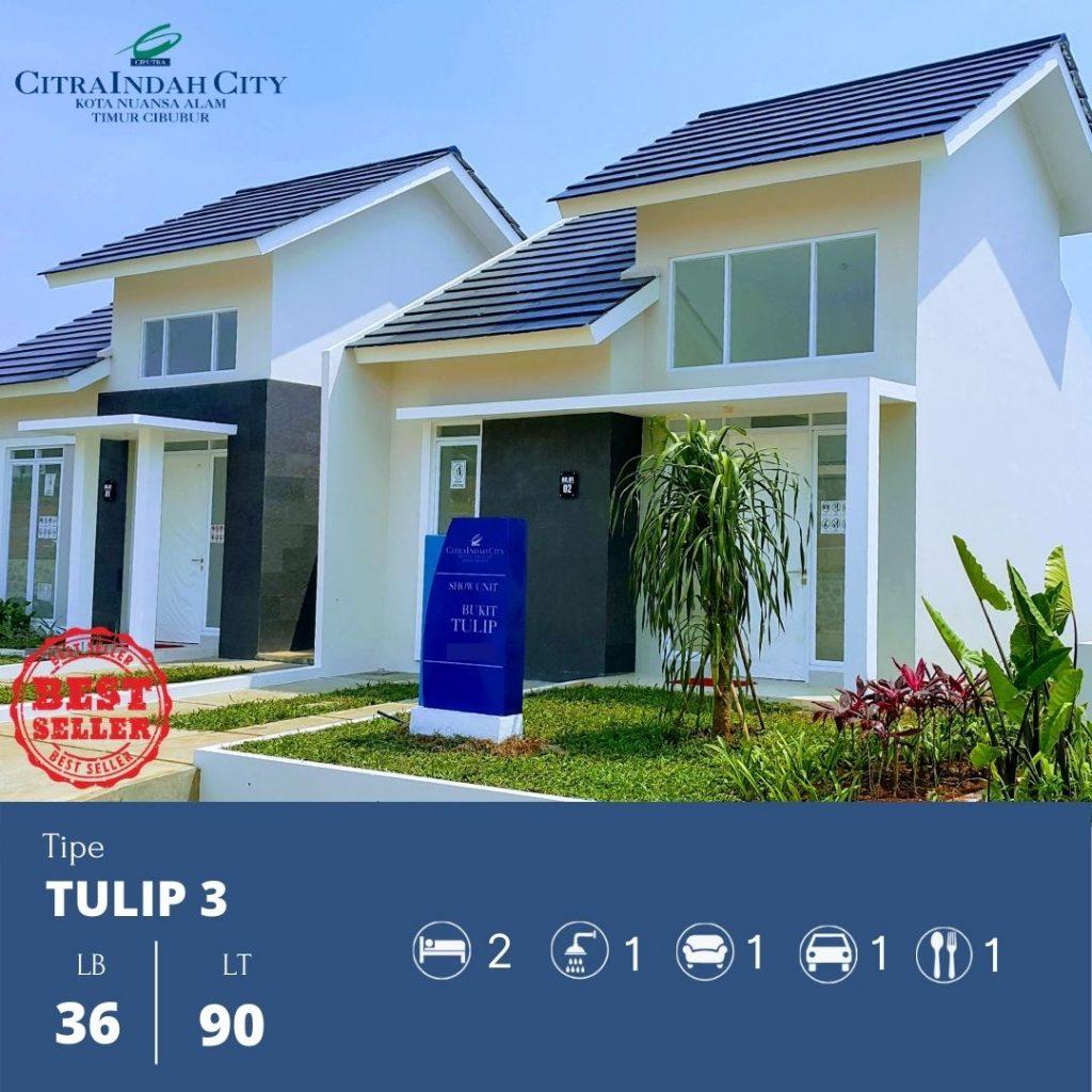 Tipe Tulip 3 - 36-90 Citra Indah City