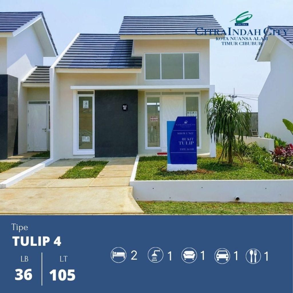 Tipe Tulip 4 - 36-105 Citra Indah City