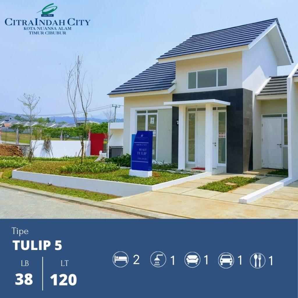 Tipe Tulip 5 - 38-120 Citra Indah City