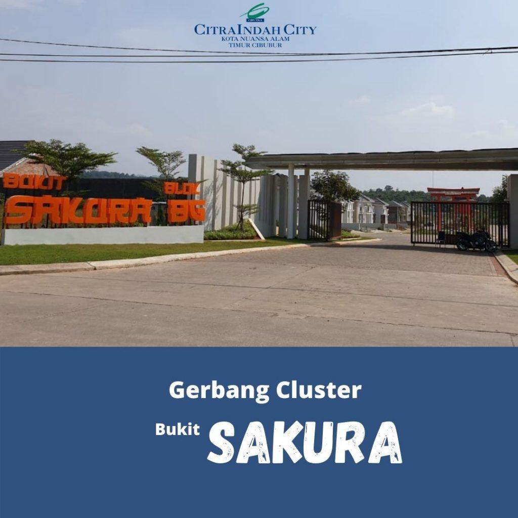 Gerbang Cluster Sakura Citra Indah City
