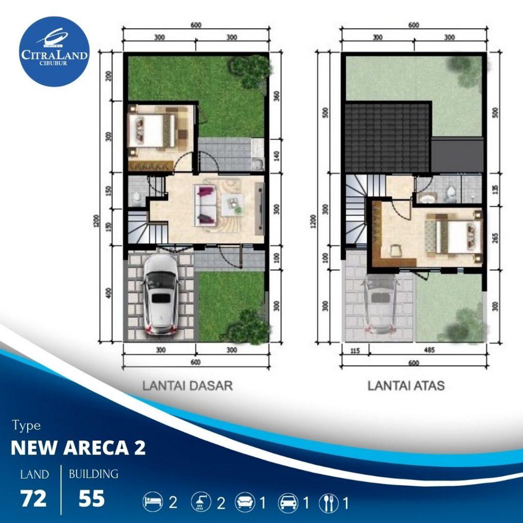 New Areca CitraLand Cibubur