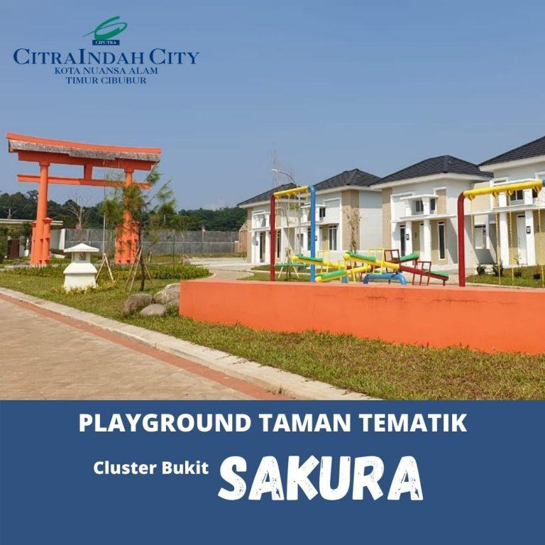 Taman Cluster Sakura Citra Indah City