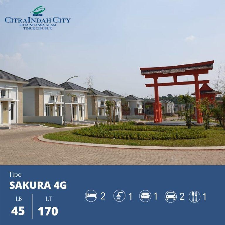 Sakura 4G - 45-170 Citra indah City
