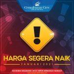 Citra Indah City Harga Naik 2021